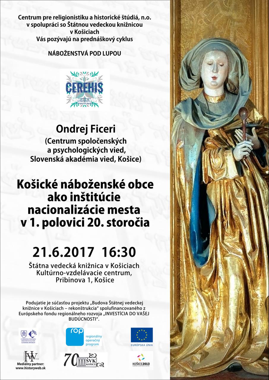 CEREHIS, Centrum pre religionistiku a historické štúdiá