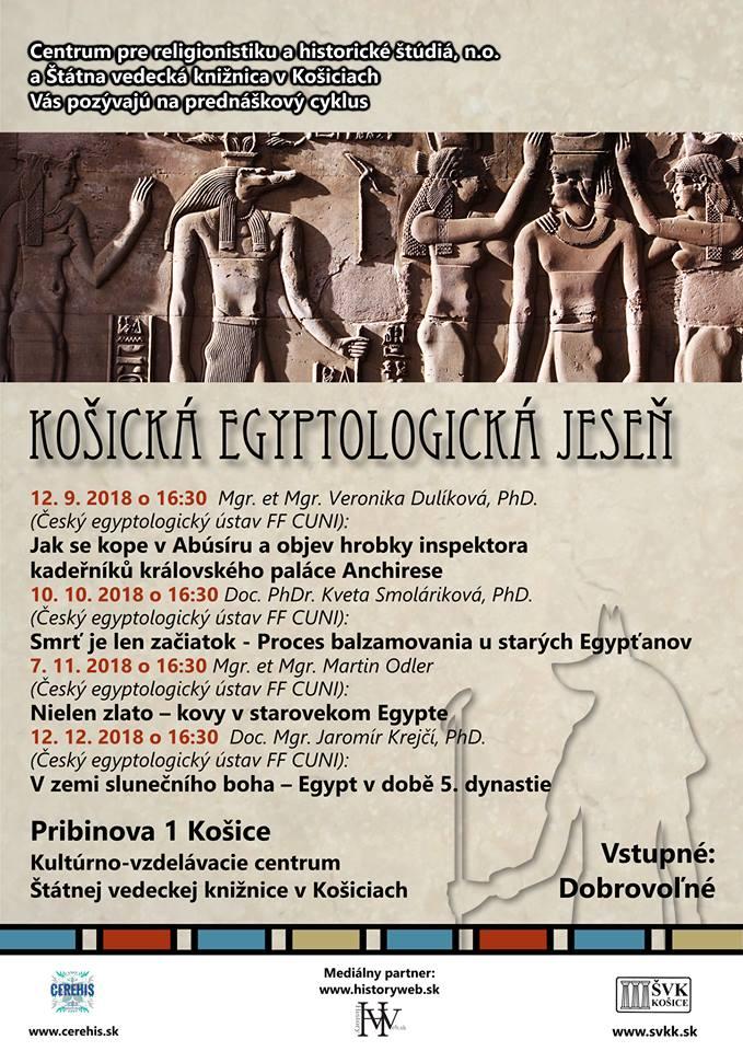 košická egyptologická jeseň 2018